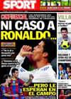 Portada diario Sport del 22 de Noviembre de 2010