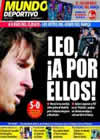 Portada Mundo Deportivo del 22 de Noviembre de 2010