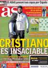 Portada diario AS del 23 de Noviembre de 2010