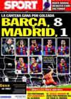 Portada diario Sport del 23 de Noviembre de 2010