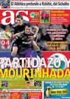 Portada diario AS del 24 de Noviembre de 2010