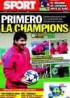 Portada diario Sport del 24 de Noviembre de 2010