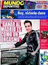 Portada Mundo Deportivo del 24 de Noviembre de 2010