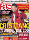 Portada diario AS del 25 de Noviembre de 2010