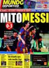 Portada Mundo Deportivo del 25 de Noviembre de 2010