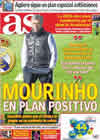 Portada diario AS del 26 de Noviembre de 2010