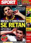 Portada diario Sport del 26 de Noviembre de 2010