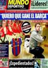 Portada Mundo Deportivo del 26 de Noviembre de 2010