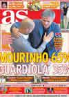 Portada diario AS del 27 de Noviembre de 2010
