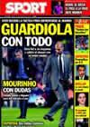 Portada diario Sport del 27 de Noviembre de 2010