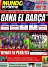 Portada Mundo Deportivo del 27 de Noviembre de 2010