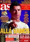 Portada diario AS del 28 de Noviembre de 2010