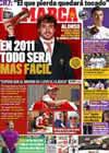 Portada diario Marca del 28 de Noviembre de 2010