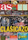 Portada diario AS del 29 de Noviembre de 2010