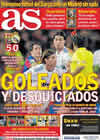 Portada diario AS del 30 de Noviembre de 2010