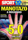 Portada diario Sport del 30 de Noviembre de 2010