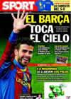 Portada diario Sport del 1 de Diciembre de 2010