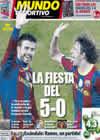 Portada Mundo Deportivo del 1 de Diciembre de 2010