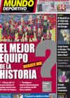Portada Mundo Deportivo del 2 de Diciembre de 2010