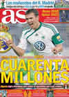 Portada diario AS del 3 de Diciembre de 2010