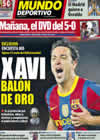 Portada Mundo Deportivo del 3 de Diciembre de 2010