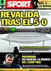 Portada diario Sport del 4 de Diciembre de 2010