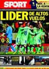 Portada diario Sport del 5 de Diciembre de 2010