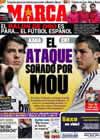 Portada diario Marca del 7 de Diciembre de 2010