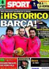 Portada diario Sport del 7 de Diciembre de 2010