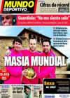 Portada Mundo Deportivo del 7 de Diciembre de 2010