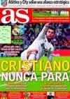 Portada diario AS del 8 de Diciembre de 2010