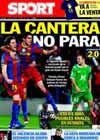 Portada diario Sport del 8 de Diciembre de 2010