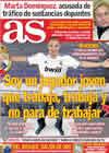 Portada diario AS del 10 de Diciembre de 2010