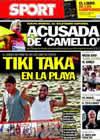 Portada diario Sport del 10 de Diciembre de 2010