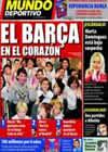 Portada Mundo Deportivo del 10 de Diciembre de 2010
