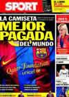Portada diario Sport del 11 de Diciembre de 2010