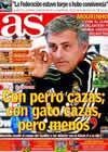 Portada diario AS del 12 de Diciembre de 2010