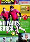 Portada Mundo Deportivo del 12 de Diciembre de 2010