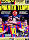 Portada Mundo Deportivo del 13 de Diciembre de 2010