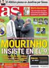 Portada diario AS del 14 de Diciembre de 2010