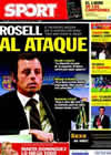 Portada diario Sport del 14 de Diciembre de 2010
