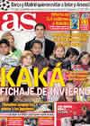 Portada diario AS del 17 de Diciembre de 2010