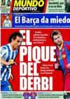 Portada Mundo Deportivo del 17 de Diciembre de 2010