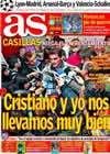 Portada diario AS del 18 de Diciembre de 2010