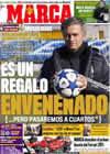 Portada diario Marca del 18 de Diciembre de 2010