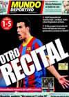 Portada Mundo Deportivo del 19 de Diciembre de 2010