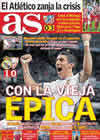 Portada diario AS del 20 de Diciembre de 2010