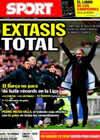 Portada diario Sport del 20 de Diciembre de 2010