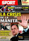 Portada diario Sport del 21 de Diciembre de 2010