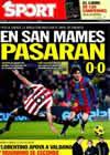 Portada diario Sport del 22 de Diciembre de 2010